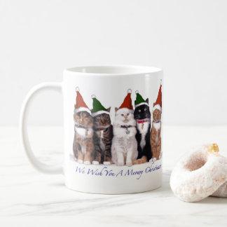 Le deseamos una taza del navidad de Meowy