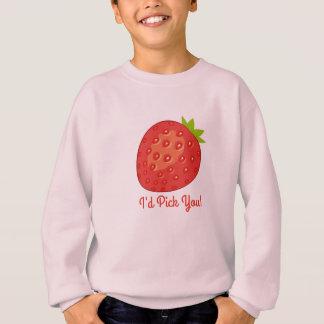 """""""Le escogería!"""" La camiseta del chica de la fresa"""
