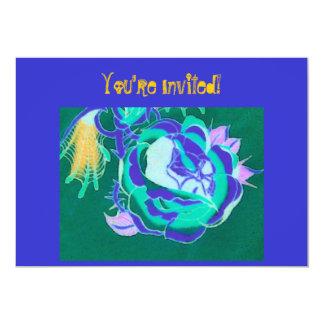 ¡Le invitan! ¡- A la roca! - Diseño del Invitación 12,7 X 17,8 Cm