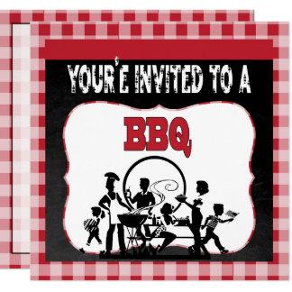 Le invitan a una invitación de la barbacoa del Bbq