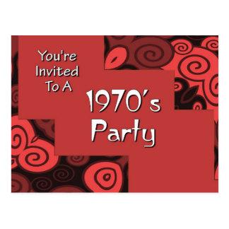 Le invitan al fiesta de los años 70 de A Postal