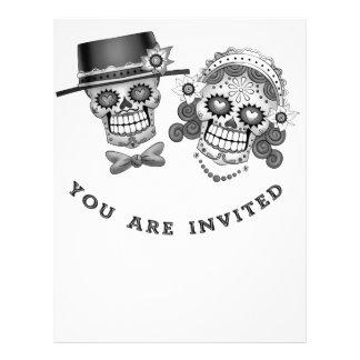 Le invitan - boda, boda, votos folleto 21,6 x 28 cm