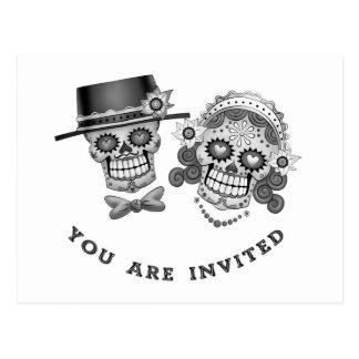Le invitan - boda, boda, votos postal