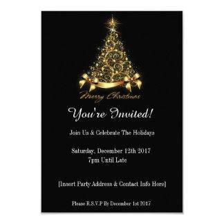 ¡Le invitan! Invitación de la fiesta de Navidad