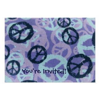 ¡Le invitan! - Los signos de la paz invitan Comunicado Personal