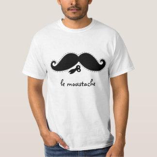 Le Moustache Camiseta