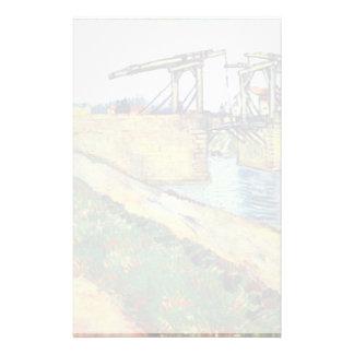 Le Pont De L'Anglois de Vincent van Gogh Papeleria De Diseño