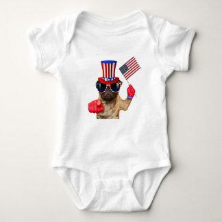 Le quiero, barro amasado, perro del tío Sam, Body Para Bebé