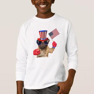 Le quiero, barro amasado, perro del tío Sam, Camiseta