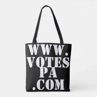¿Le registran? Bolso del voto