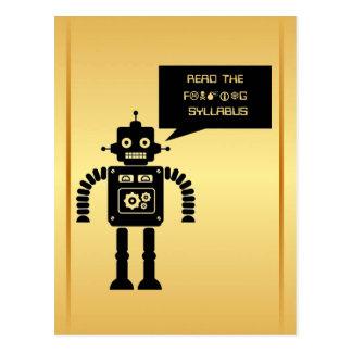 Lea el programa amistoso postal
