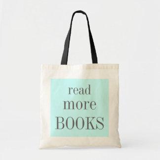 Lea más libros bolso de tela