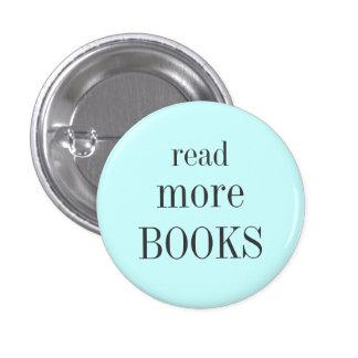 Lea más libros chapa redonda de 2,5 cm