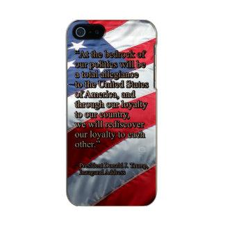 LEALTAD TOTAL PRES45 FUNDA PARA iPhone 5 INCIPIO FEATHER SHINE