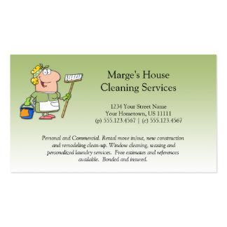 Lealtad verde del cliente de la limpieza de la tarjetas de visita