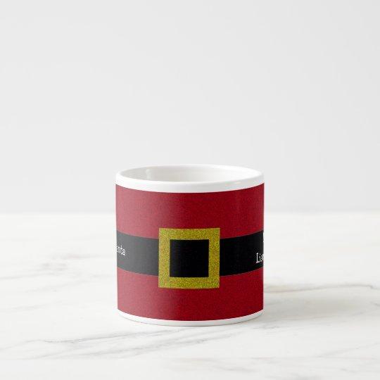 Leche adaptable para santa taza de espresso zazzle for Tazas para espresso