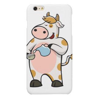 leche de consumo de la vaca