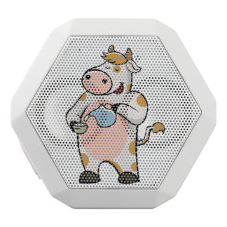 leche de consumo de la vaca altavoz