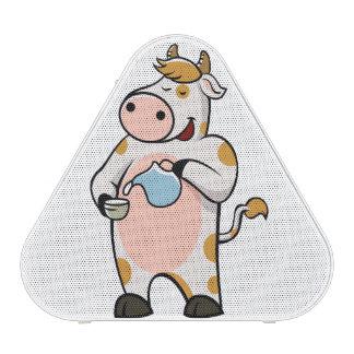 leche de consumo de la vaca altavoz bluetooth