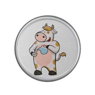 leche de consumo de la vaca altavoz con bluetooth