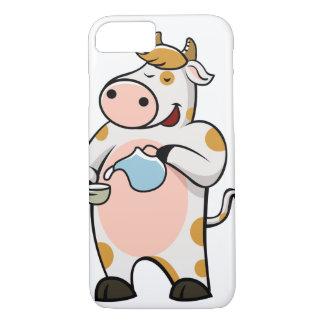 leche de consumo de la vaca funda iPhone 7