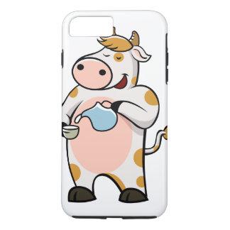 leche de consumo de la vaca funda iPhone 7 plus