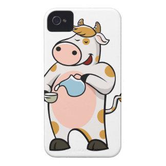 leche de consumo de la vaca funda para iPhone 4 de Case-Mate