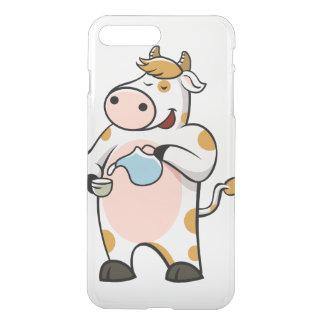 leche de consumo de la vaca funda para iPhone 7 plus