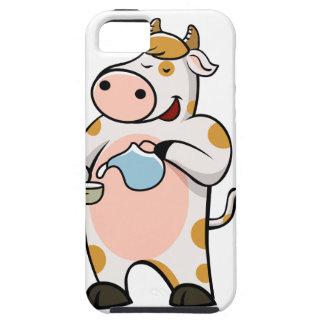 leche de consumo de la vaca funda para iPhone SE/5/5s