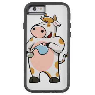 leche de consumo de la vaca funda tough xtreme iPhone 6
