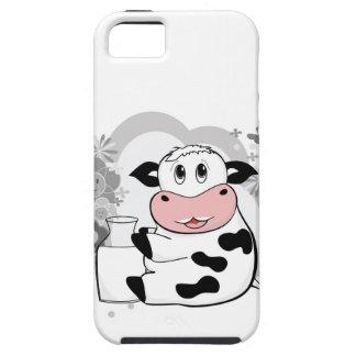 Leche de consumo de la vaca iPhone 5 protector