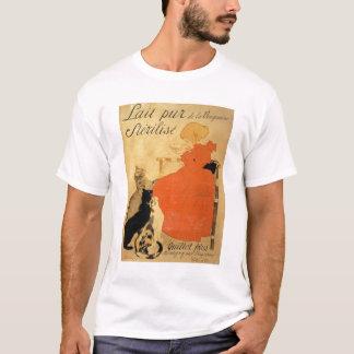 """""""Leche esterilizada pura del La Vingeanne"""", 1894 Camiseta"""