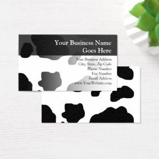 Lechería personalizada impresión de la leche de la tarjeta de visita