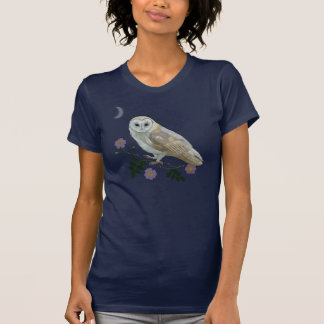 Lechuza común camiseta