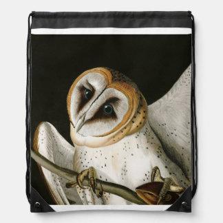 lechuzas comunes illustratation audubon del vint mochilas. Black Bedroom Furniture Sets. Home Design Ideas