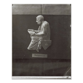 Lectura del poeta de Sophocles Póster
