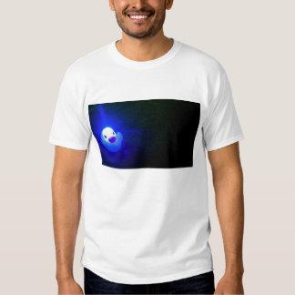 LED azul Duckie Camisas