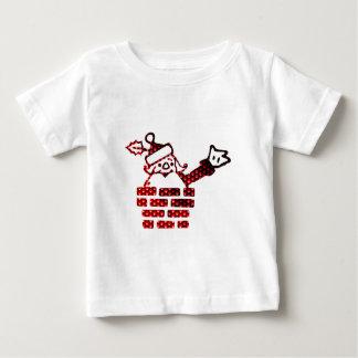 LED Santa Camiseta De Bebé