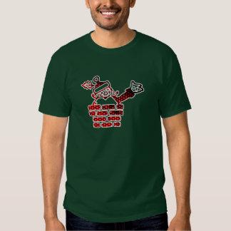 LED Santa Camisetas