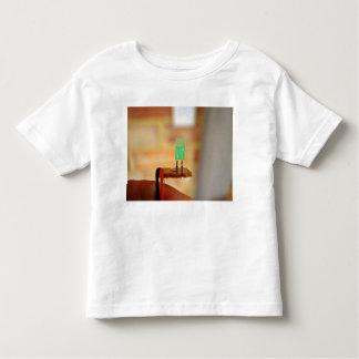 LED verde Camiseta De Niño
