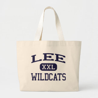 Lee - gatos monteses - joven - arbolado California Bolsa Tela Grande