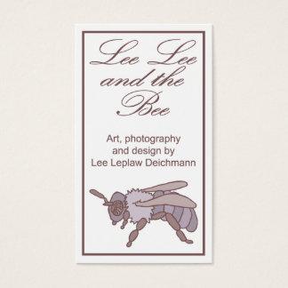 Lee Lee y la abeja, tarjetas del perfil del