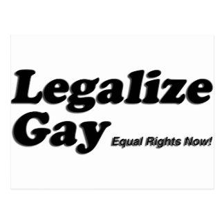 Legalice al gay postal