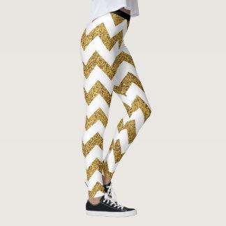 Leggings Adore las polainas de oro