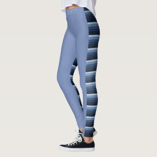 Leggings Adore las polainas rayadas barrena de cola