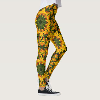 Leggings Amapolas californianas, naturaleza, estilo 006,62
