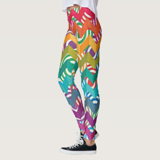 Leggings Arco iris vibrante
