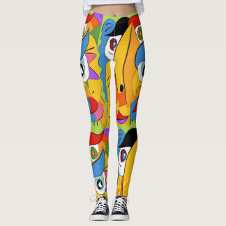 Leggings Arte que camina