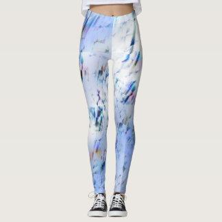 Leggings Azul abstracto