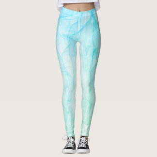 Leggings azul de la capa